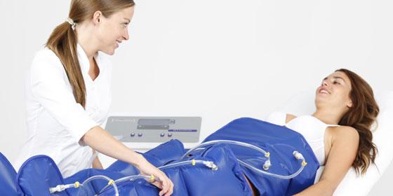 Прессотерапия или лимфодренаж